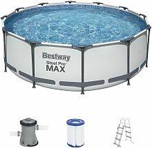 Steel Pro Max Set 366x100cm Pool Schwimmbecken