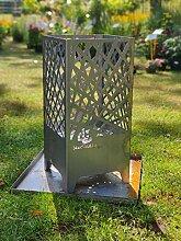 Steelbutze | Design Feuerkorb Elegance | Aus