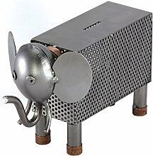 Steelman24 I Schraubenmännchen Elefant Spardose I