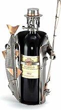 Steelman24 I Schraubenmännchen Weinflaschenhalter