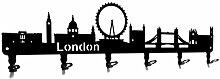 steelprint.de Wandgarderobe - Skyline London -
