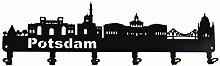 steelprint.de Wandgarderobe - Skyline Potsdam -