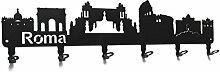 steelprint.de Wandgarderobe - Skyline Roma -