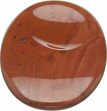 steengoed Jaspis Handschmeichler, Stein, Ro