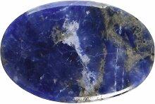 steengoed Sodalith Handschmeichler, Stein, blau