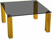Stegert-Design 23914-E8 Couchtisch, Glas,