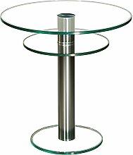 Stegert-Design 42724-M Couchtisch, Glas, Klarglas,