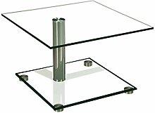 Stegert-Design 43734-M Couchtisch Glas Klarglas 70