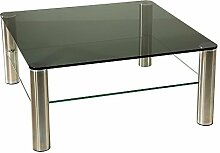 Stegert-Design 44224-M Couchtisch, Glas,