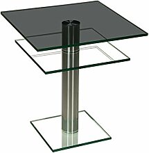 Stegert-Design 44824-M Couchtisch, Glas,