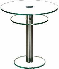 Stegert-Design 46724-M Couchtisch, Glas,