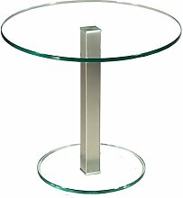 Stegert-Design 53724-M Couchtisch, Glas, Klar, 55