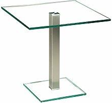 Stegert-Design 53824-M Couchtisch, Glas, Klar, 50