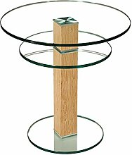 Stegert-Design 62724-E8 Couchtisch Glas Klarglas