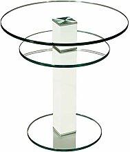 Stegert-Design 62724-L8 Couchtisch Glas Klarglas