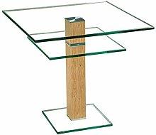 Stegert-Design 62824-E8 Couchtisch Glas Klarglas