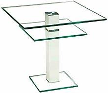 Stegert-Design 62824-L8 Couchtisch Glas Klarglas
