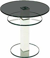 Stegert-Design 64724-L8 Couchtisch Glas Parsolglas