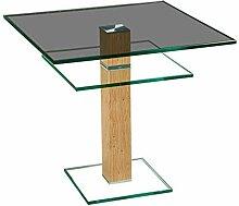 Stegert-Design 64824-E8 Couchtisch, Glas,