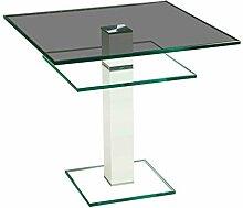 Stegert-Design 64824-L8 Couchtisch Glas Parsolglas