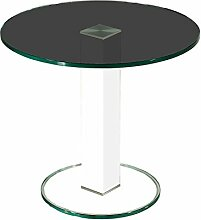 Stegert-Design 65724-L8 Couchtisch, Glas,
