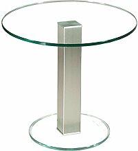 Stegert-Design 73724-M Couchtisch, Glas, Klarglas,