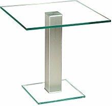 Stegert-Design 73824-M Couchtisch, Glas, Klarglas,