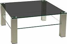 Stegert-Design 74124-M Couchtisch, Glas,