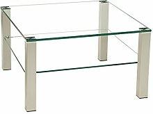 Stegert-Design Perth201 Couchtisch Glas Klarglas