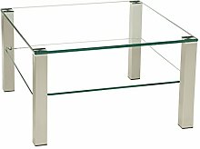 Stegert-Design Perth202 Couchtisch Glas Klarglas