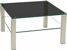 Stegert-Design Perth402 Couchtisch, Glas,