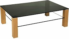 Stegert-Design Sydney40518 Couchtisch, Glas,