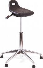 Stehhilfe Chairsupply 340 schwarz Alu