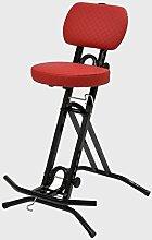 Stehhilfe Stehhocker Stehsitz Sitz Sitzhilfe Stehstütze mit ergonomischer Sitz 6 cm dickem Polster bis 130 kg belastbar Exklusiv TGCR