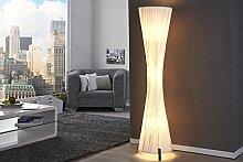 Stehlampe 160cm Retro Design extravaganter Schirm