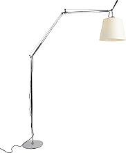 Stehlampe Aluminium 285 cm - Artemide Tolomeo Mega