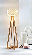 Stehlampe Flocht, E27 Ø 43 cm Höhe: 150 weiß