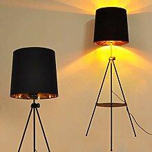 Stehlampe Modern Dreibein Antik Landhausstil mit