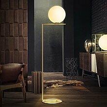 Stehlampe Moderne minimalistische Glaskugel Lampe