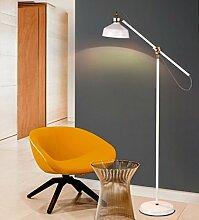 Stehlampe Wohnzimmer Einfache Moderne Schlafzimmer Studie Nordische Kreative Langarm Büro Vertikale Lampe