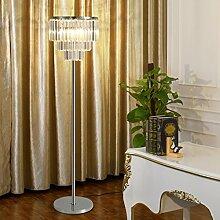 Stehlampe Wohnzimmer Kristall-Stehleuchte