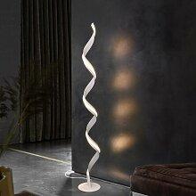 Stehlampe Wohnzimmer LED Stehleuchte Weiß Modern