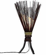 Stehleuchte Jungle 60x35cm • Bali Lampe aus