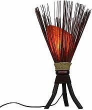"""Stehleuchte """"Jungle"""" 60x35cm • Bali Lampe in"""
