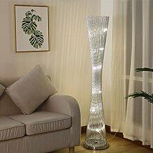 ,Stehleuchte LED gewebte Draht und Aluminium