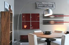 Stehleuchte Modern Retro Edelstahl Aluminium