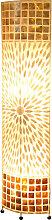 STEHLEUCHTE , Naturmaterialien , 17x149 cm , mit