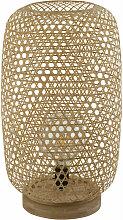Stehleuchte Rattan Stehlampe Bambus Lampe natur,