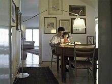 Stehleuchte Tolomeo Mega Artemide grau, Designer