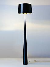 Stehleuchte Totem schwarz, Designer Aluminor,
